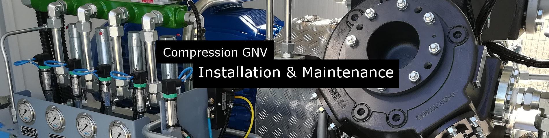 Stations Gaz GNV, installation et maintenance